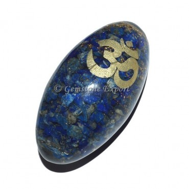 Lapis Lazuli Orgonite Shiva Lingam