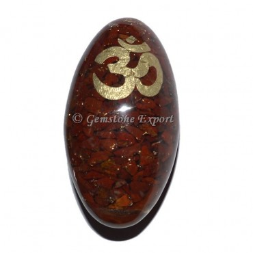Red Jasper Orgonite Shiva Lingam