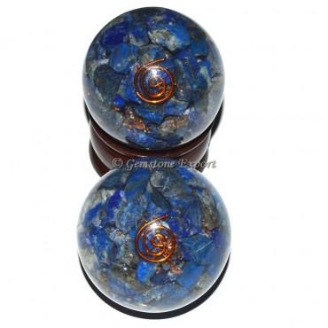 Lapis Lazuli Orgonite Sphere