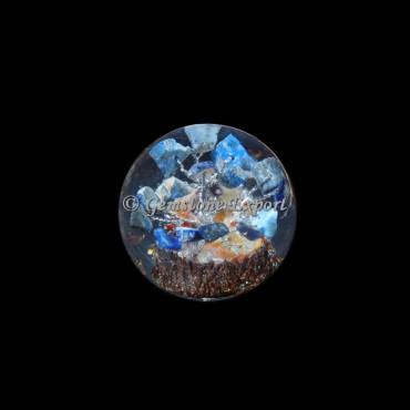 Lapis Lazuli Tree Orgonite Sphere