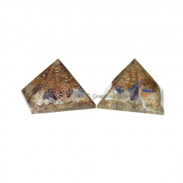 Orgone Pyramids with Crystal Point