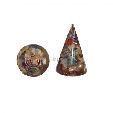Chakra Energy Orgone Cone