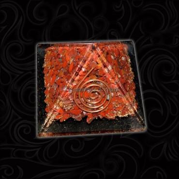 Orgone Red Jasper Pyramids