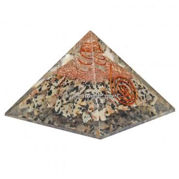 Dalmation Healing Orgonite Pyramid