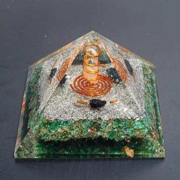 Green Aventurine Healing orgonite Pyramids