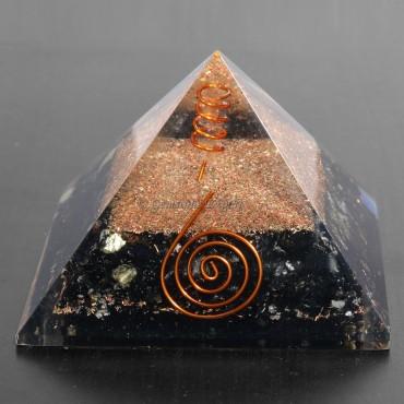 Black Tourmaline Healing Orgonite Pyramids