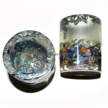 Orgone Transperent Glass Set