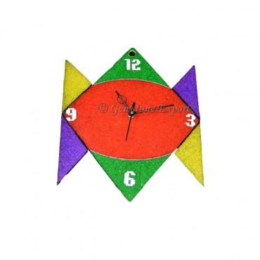 Orgone Multi Color Chakra Stone Clock