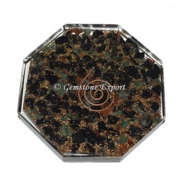Multi Stone  Orgonite Orgonite Vastu Plate