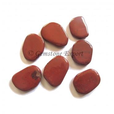 Red Jasper Unshaped Palm Stone