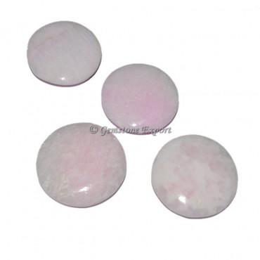 Pink Aragonite Palm Stone
