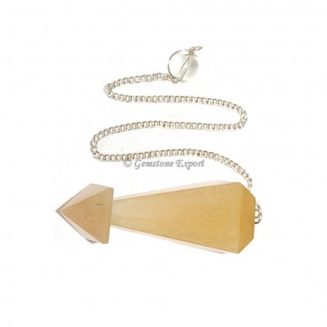 Golden Quartz Pendulums