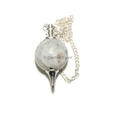 Rainbow Moonstone  Ball Pendulums