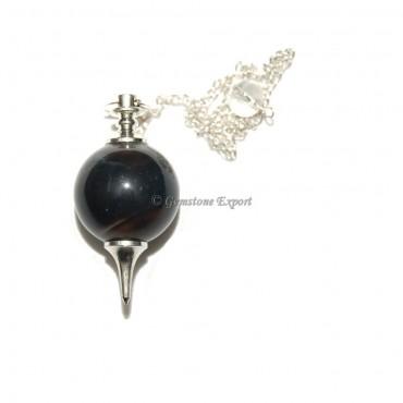 Black Onyx Ball Pendulums