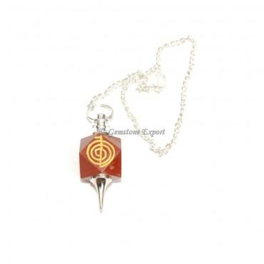 Red Jasper Choko Reiki Pendulums