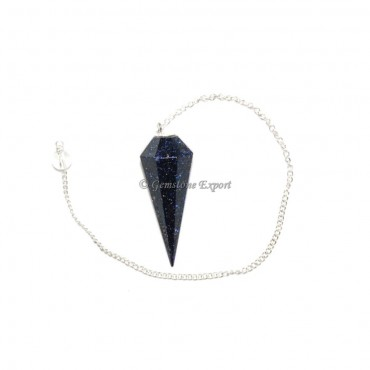 Sunstone 6 Faceted Pendulums