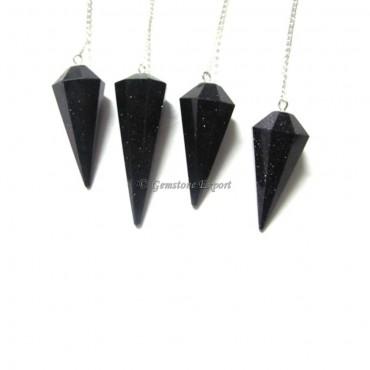 Blue Sunstone Pendulums