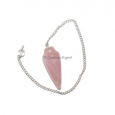 Rose Quartz Plain Pendulums