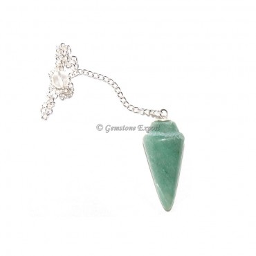 Green Aventurine Plain Pendulums