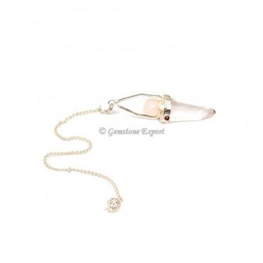 Crystal Quartz Pendulums