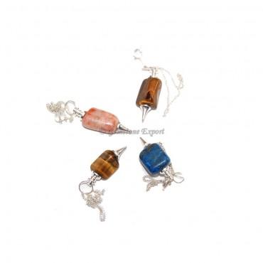 Tumbled Stones Pendulums