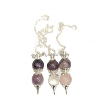 Mix Gemstone Ball Pendulums