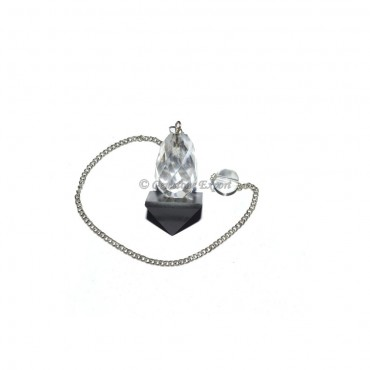 Black Agate Pendulums