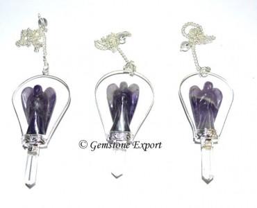 Amethyst Angels Pendulums