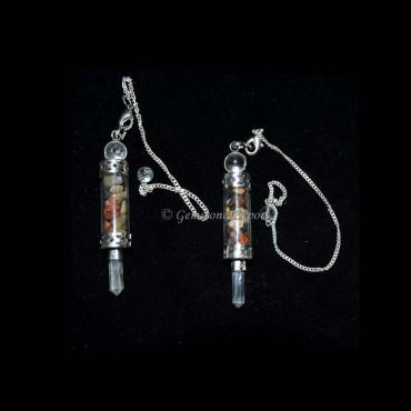 Gemstone Chamber Pendulums