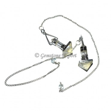 Crystal Quartz Healing Crystals Pendulum