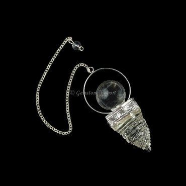 Crystal Shree Yantra Pendulums