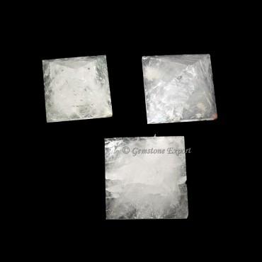 Crystal Quartz Pyramids