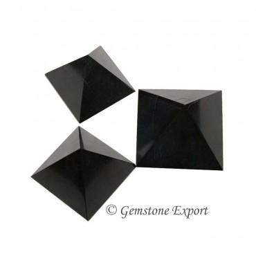 Black Agate Pyramids