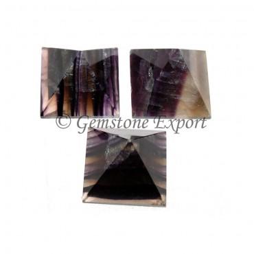 Multi Fluorite Pyramids