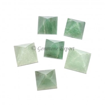 Green Aventurine Small Pyramids