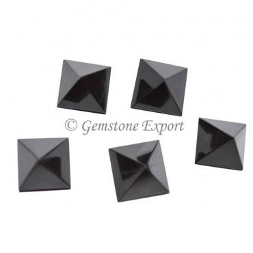 BlacK Agate Small Pyramids