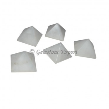 White Quartz Small Pyramids