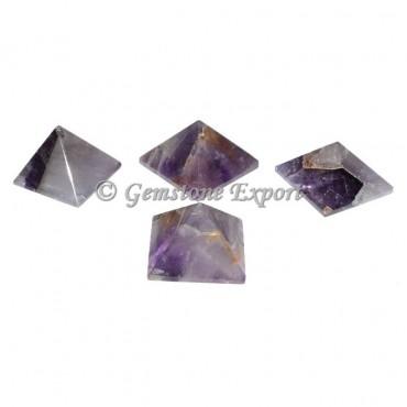 Amethyst Small Pyramids