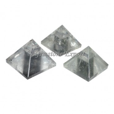 Crystal Quartz Small Pyramids