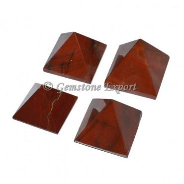 Red Jasper Small Pyramids
