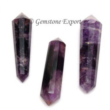 Amethyst Double Terminated Pencil point