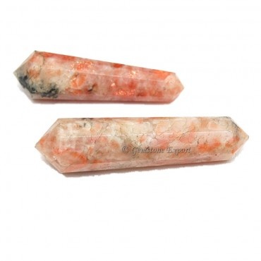 Sunstone Double Terminated Pencil point