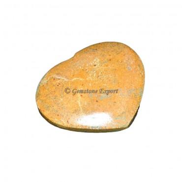 Camel Stone Puffy Hearts
