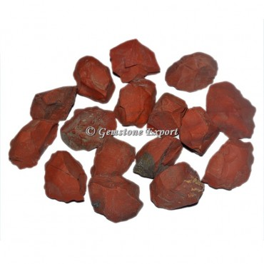 Red Jasper Rough Chunk Tumbled