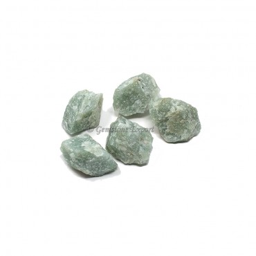 Green Aventurine Rough Chunk Tumbled