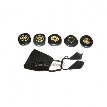 Black Agate Wiccan Sets