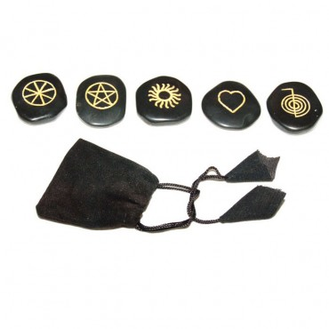 Black Agate Sun Wiccan Sets