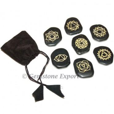 Engraved Chakra Sets