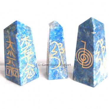 Lapis Lazuli Reiki Wands