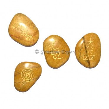 Yellow Jasper Usui Reiki Set
